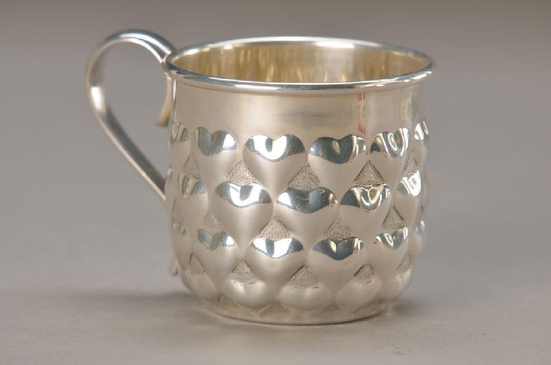 silver cup, Tiffany
