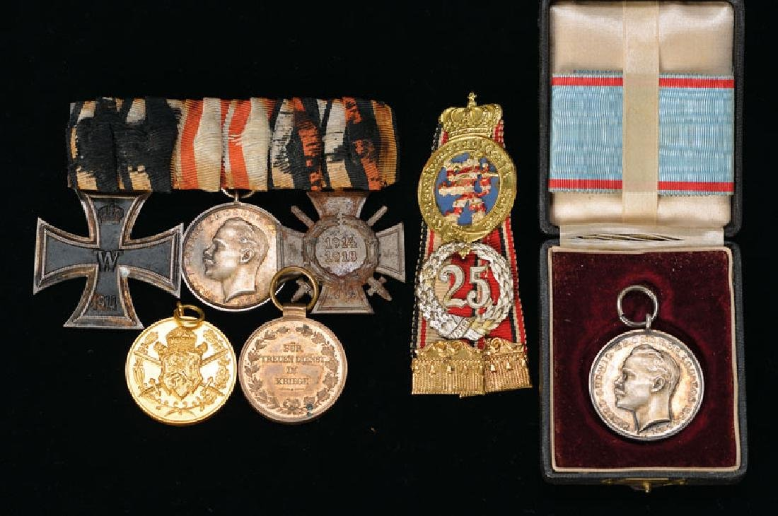 Lot decoration and merit medals