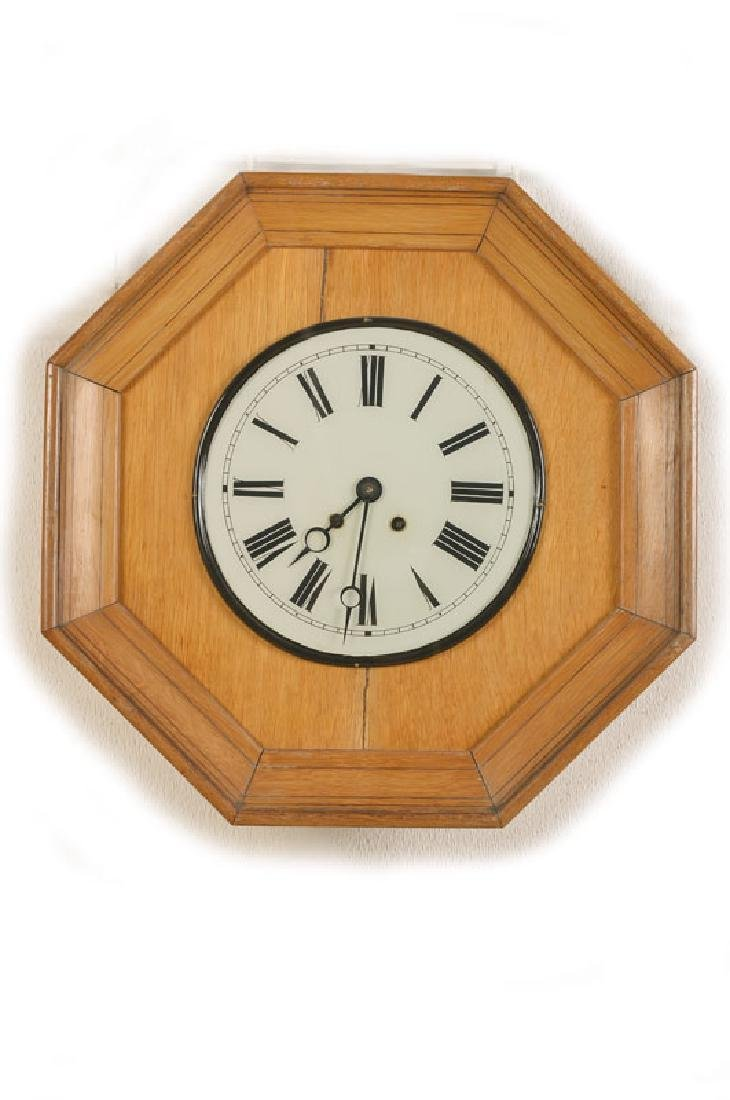 octagonal wall clock