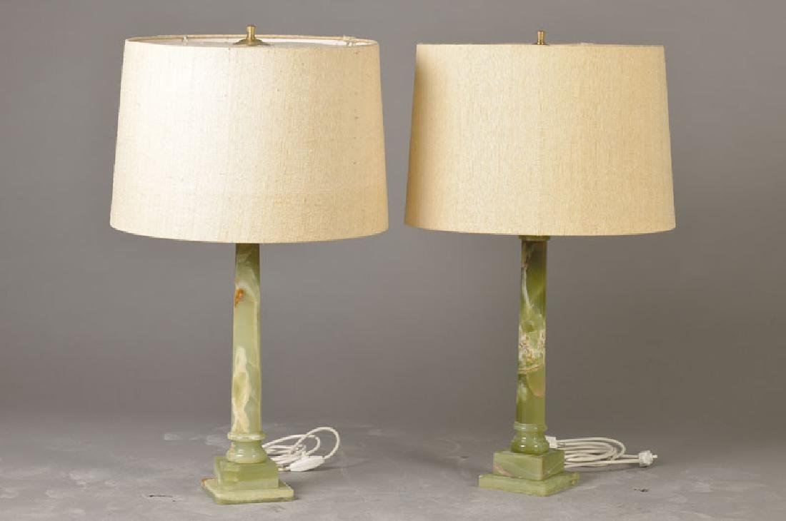 2 larger Table lamps