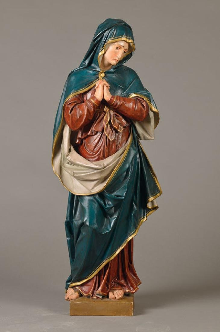 Figure of a saint