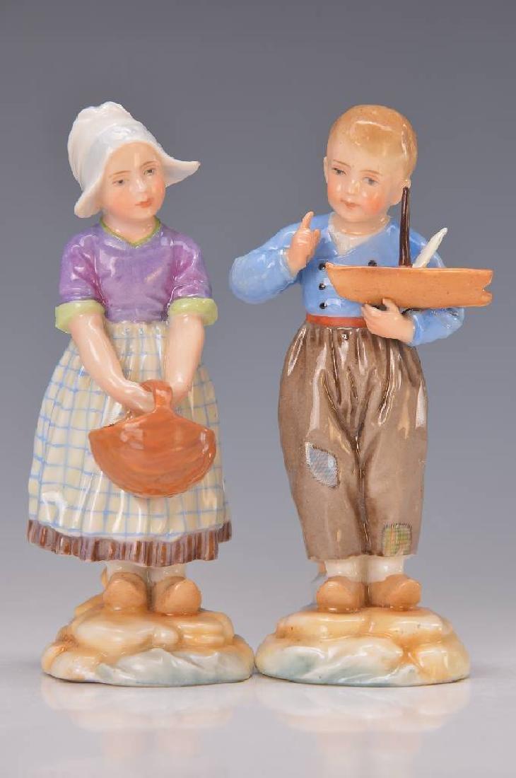 Art Nouveau figures