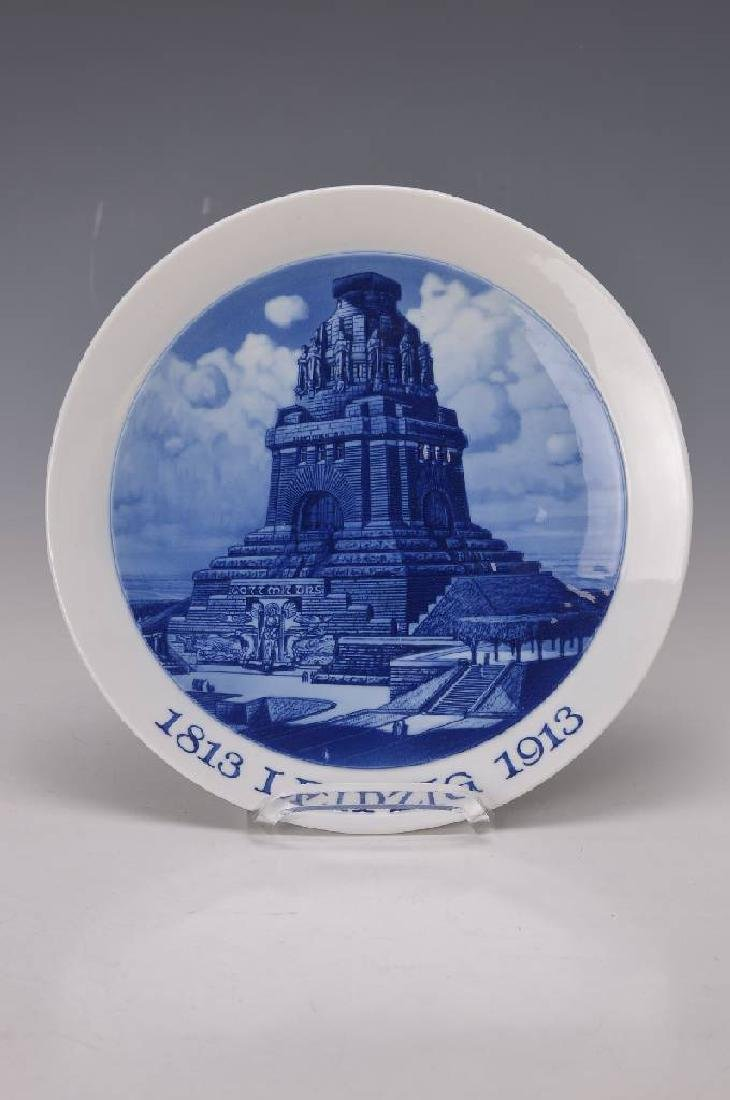 Anniversary plate/souvenir plate