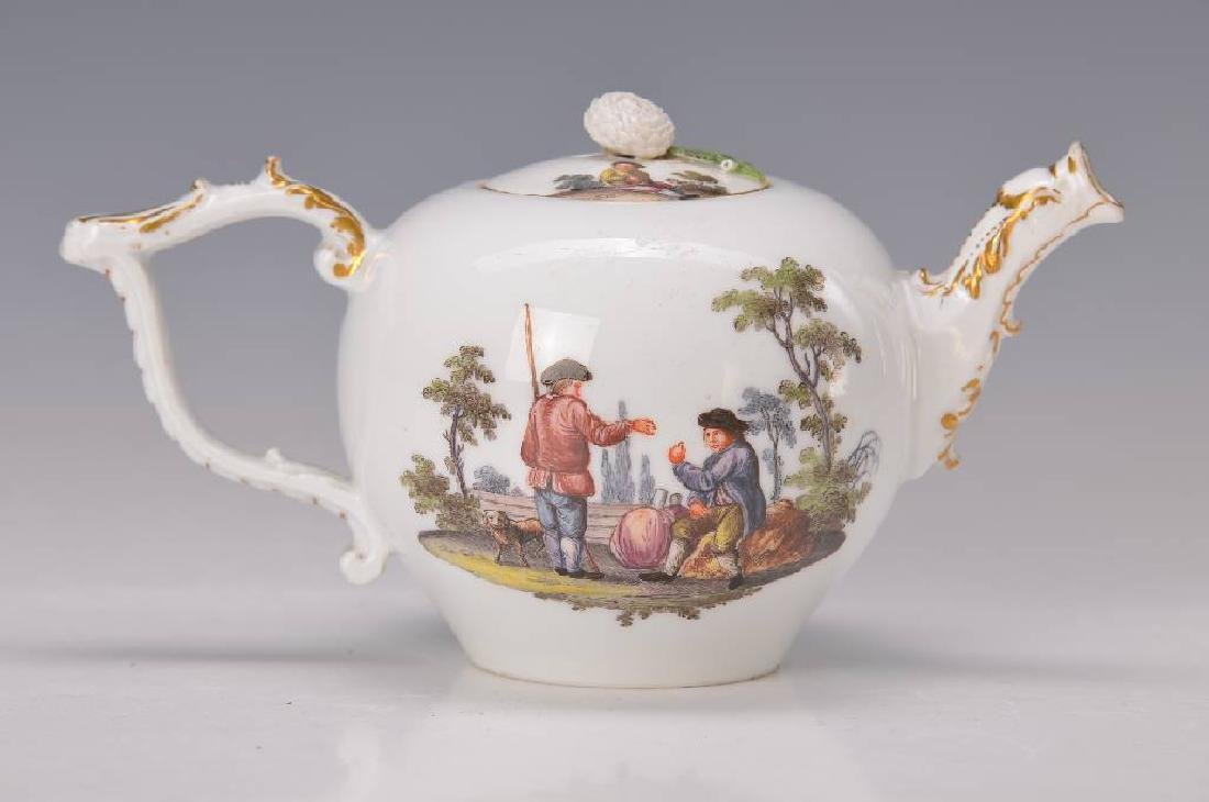 tea pot, Meissen
