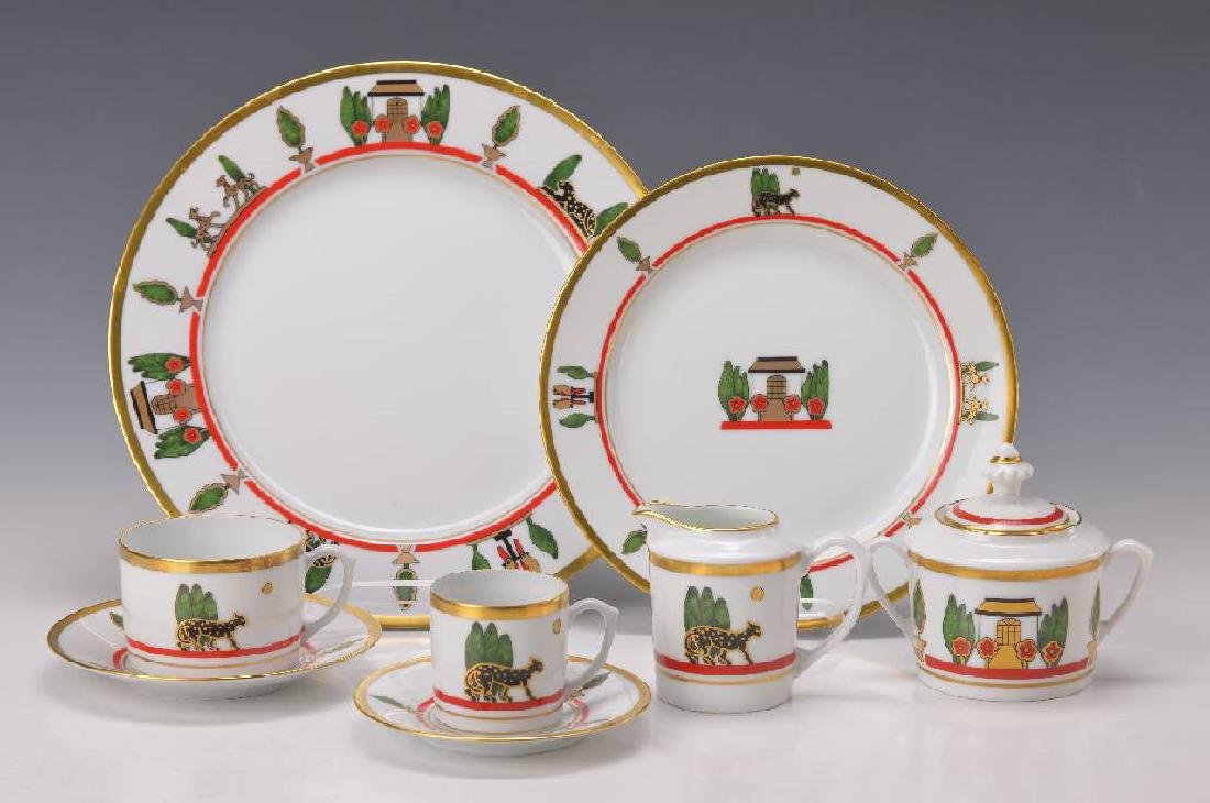 Set, Limoges for Cartier
