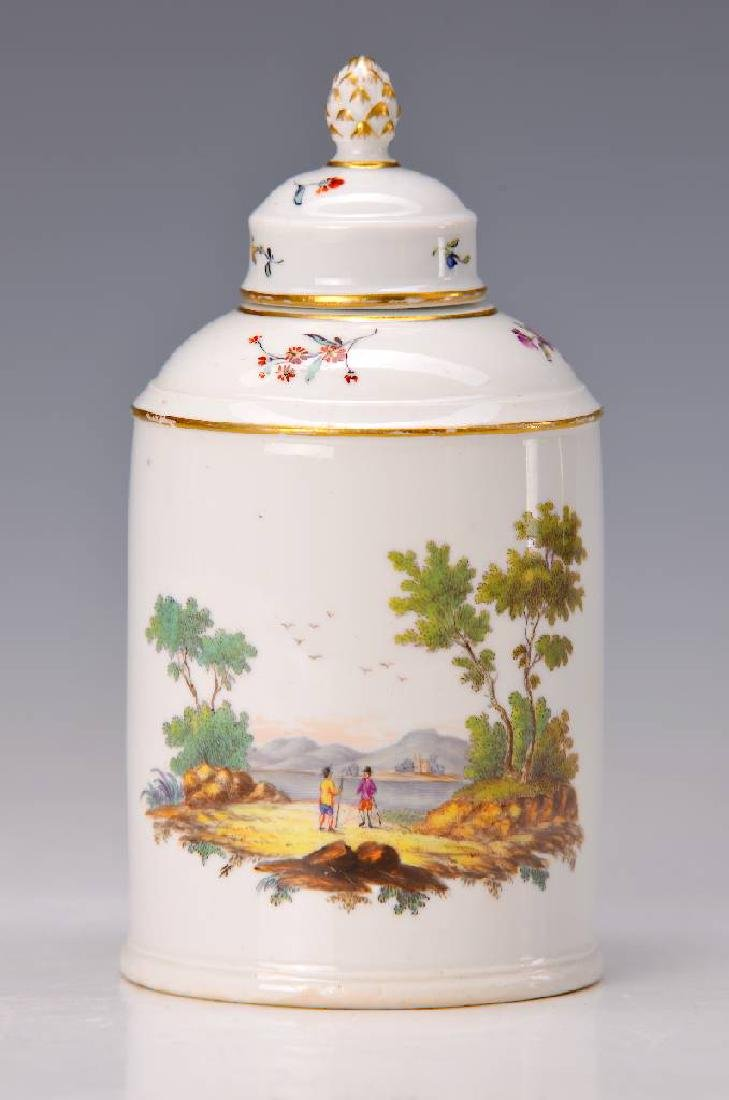 tea caddy, Hoechst