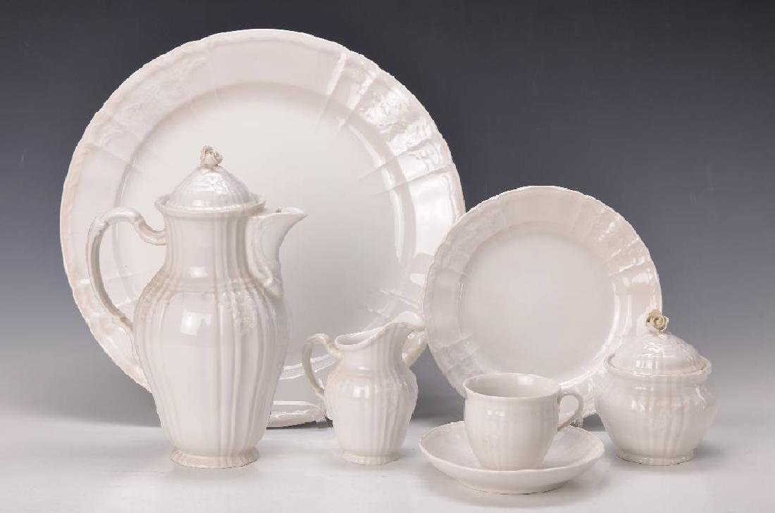 coffee set, Rocaille