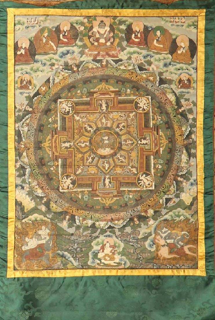 Tibetan Thangka 'Painting',