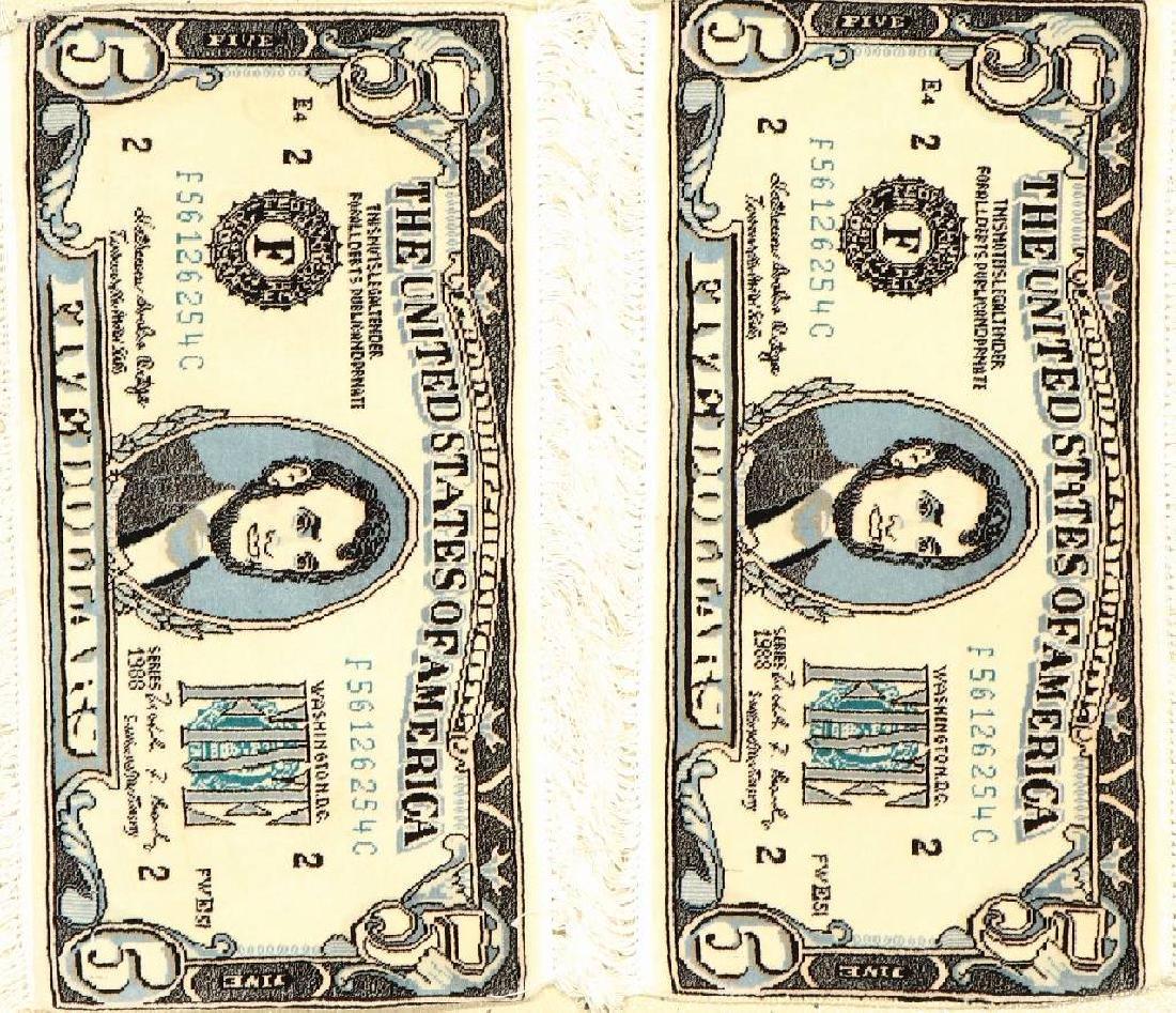 A Pair Of Tabriz '50 RAJ' Rugs (5 Dollar),