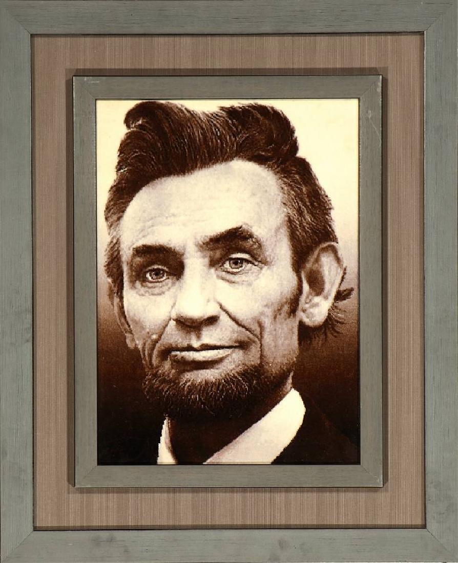 Tabriz 'Pictorial Rug' 50 RAJ (Abraham Lincoln),