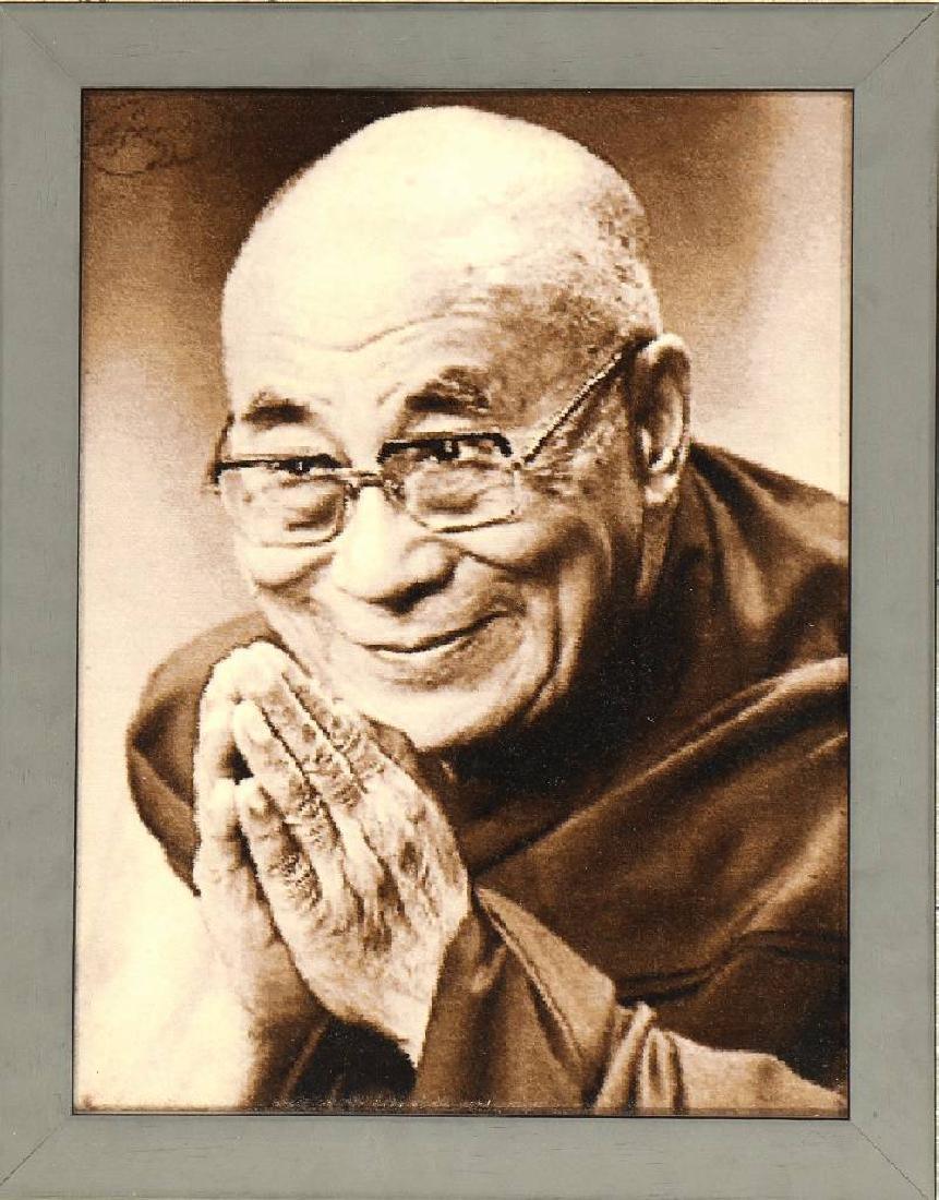 Tabriz 'Pictorial Rug' 50 RAJ (Tenzin Gyatso, Dalai
