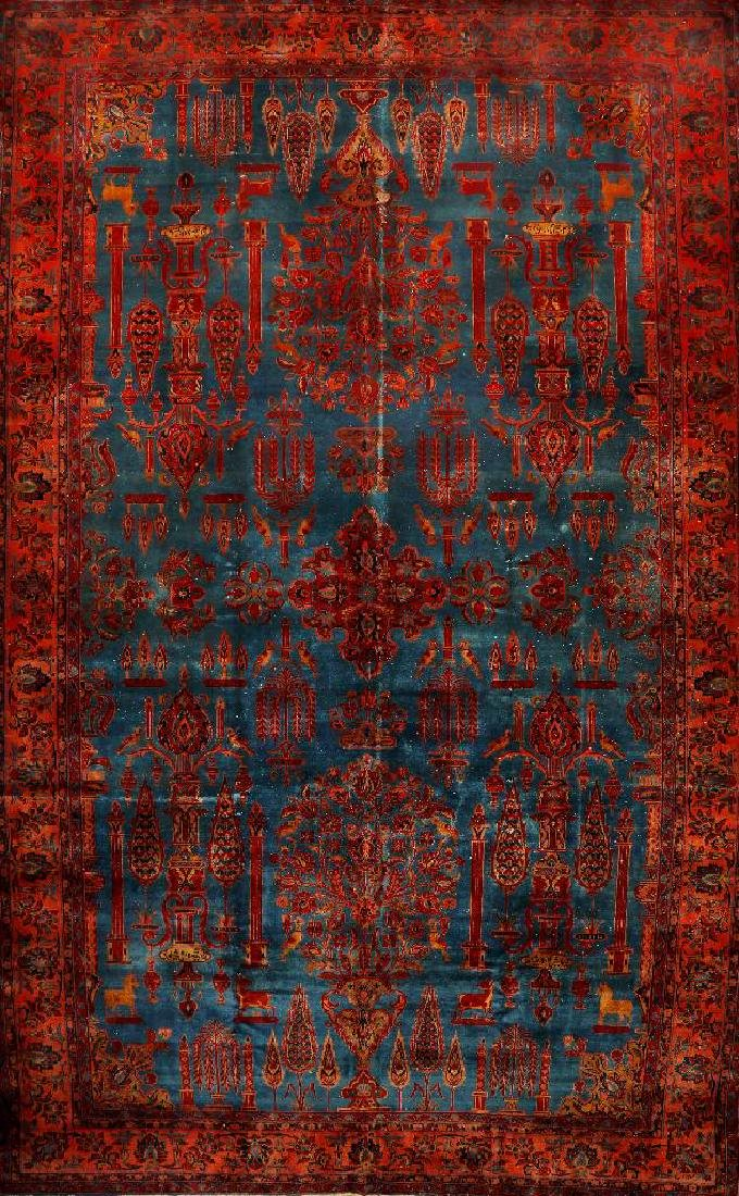 Large Fine 'Manchester' Kashan 'Telifian' Carpet