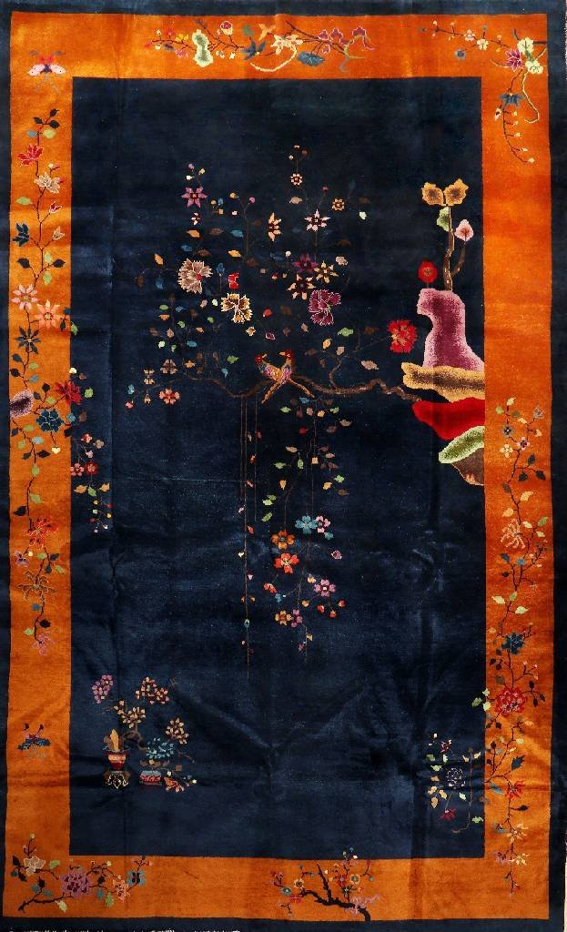 Large Chinese Beijing Carpet,