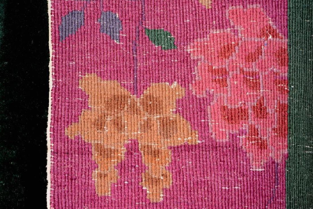 Chinese Green Ground Beijing 'Carpet', - 6