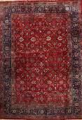 Large Mashad 'Saber' Carpet (Signed),