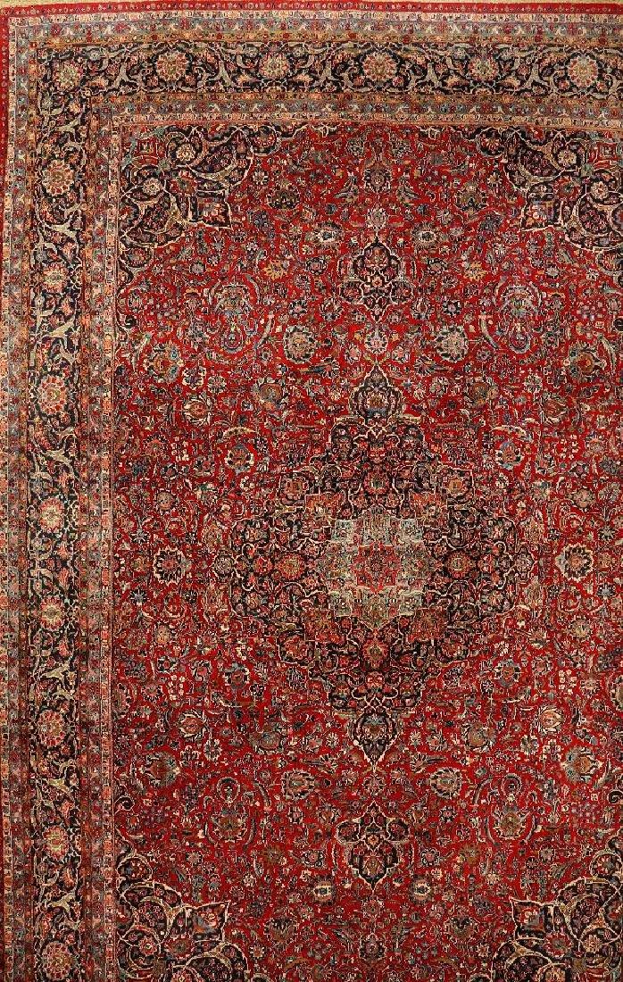 Large Kashan Carpet,