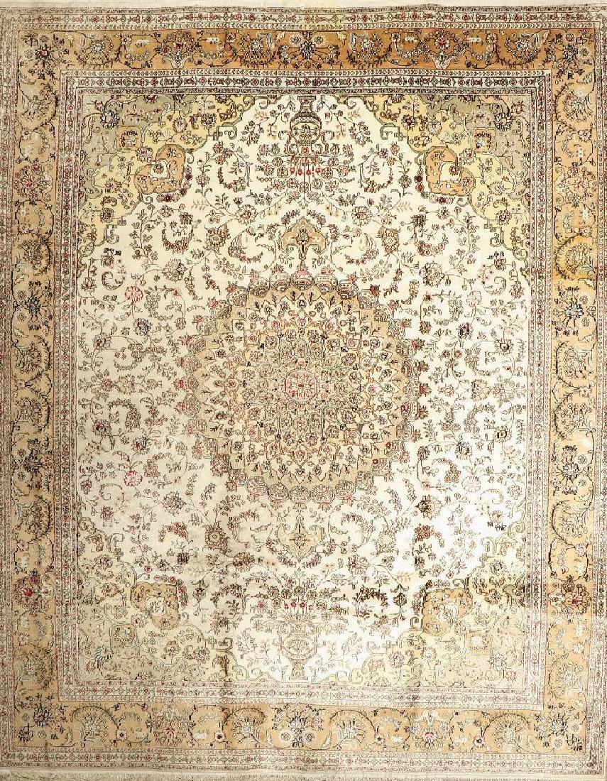 Chinese Silk Carpet,