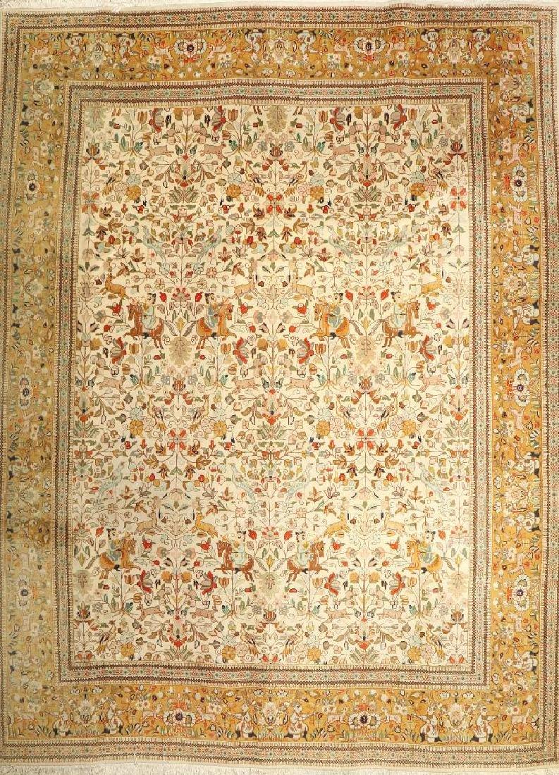 Tabriz-Tabatabai Carpet,