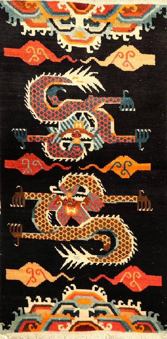 Tibetan Khaden Rug (Dragon Design),