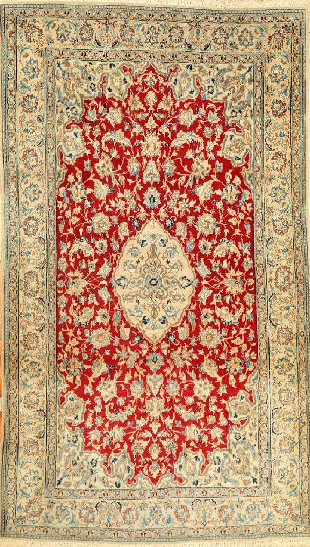 Nain Rug (Part-Silk),
