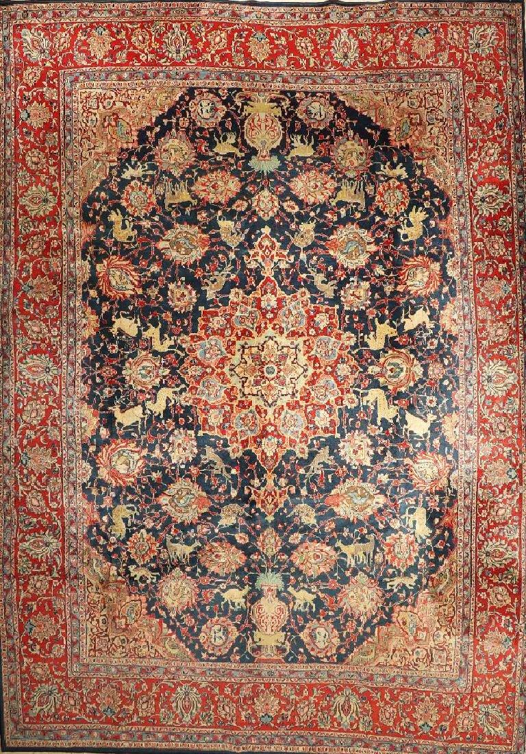 Large Saruk Carpet,