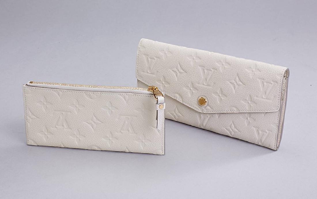 Louis Vuitton wallet, monogram Empreinte