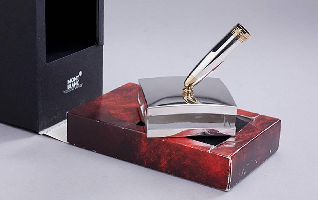 MONTBLANC stand for fountain pens