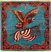 Fine 'Manchester Wool' Kurk Kashan 'Dabir Sanayeh' Rug