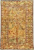 Fine Silk Tehran Rug (Tree Of Life),