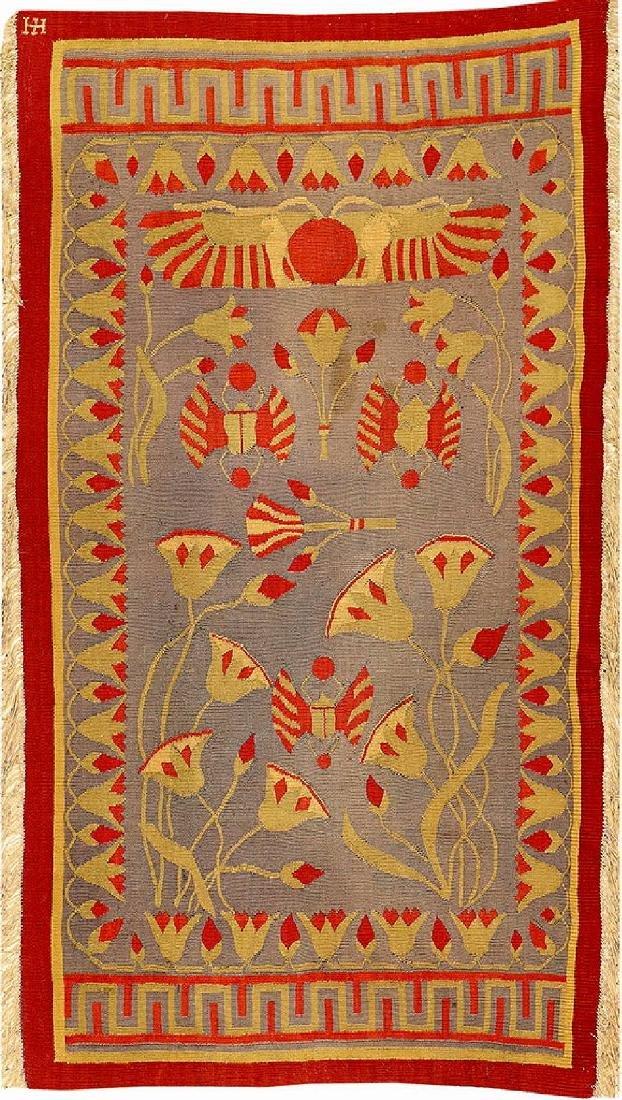 Bessarabian 'Art-Deco Kilim' (Art Nouveau Design),