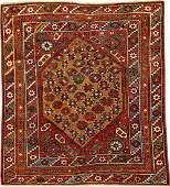 Camel Wool Bergama Rug