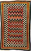 Unique Luri Gabbeh 'Borgello-Style' Rug (Published By