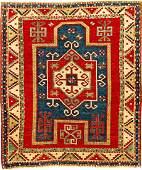 Fine Fachralo Kazak 'Prayer Rug' (Acquired From