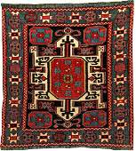 Exceptionally Fine 'Part-Silk' Moghan- Shahsavan Sumakh
