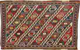 'Part-Cotton' Shahsavan-Sumakh 'Mafrash-Panel'
