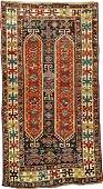 Kazak 'Column' Rug,