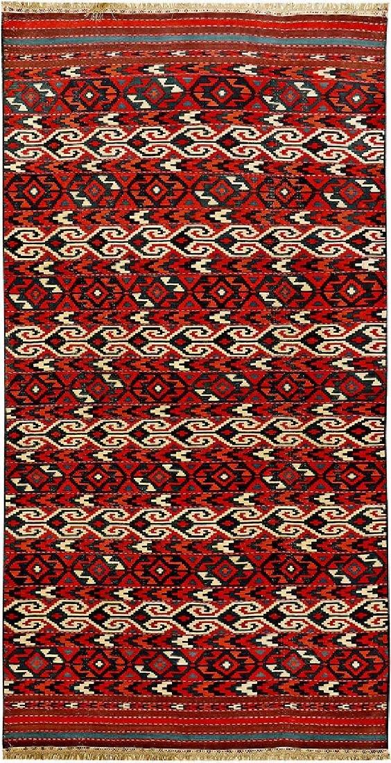 Fine 'Part-Cotton' Yomut 'Kilim',