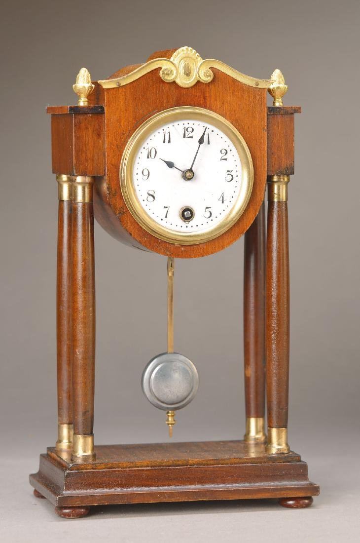 miniature Portico clock