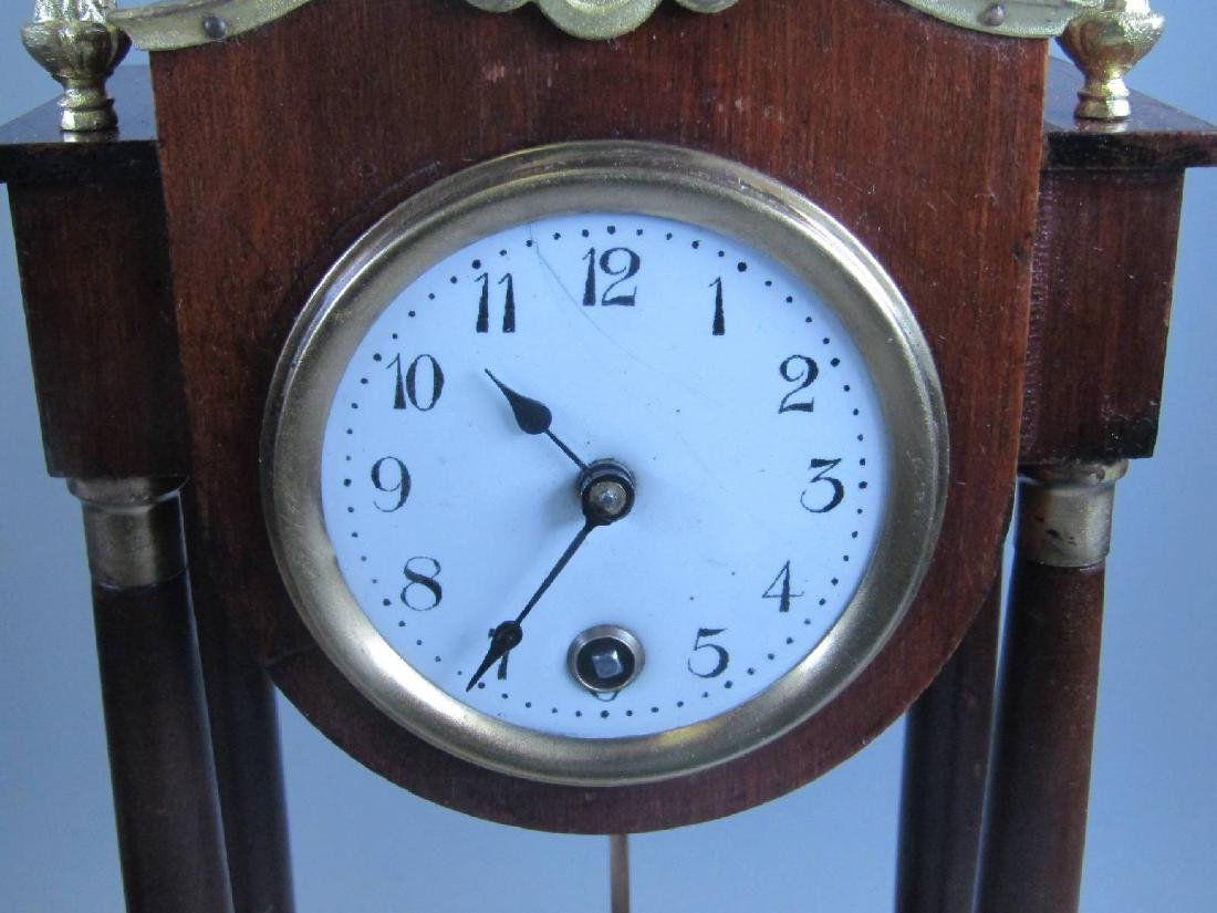 miniature Portico clock - 3