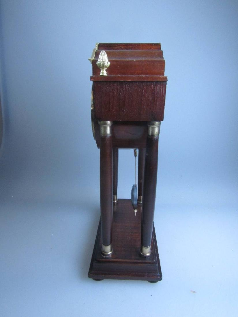 miniature Portico clock - 6