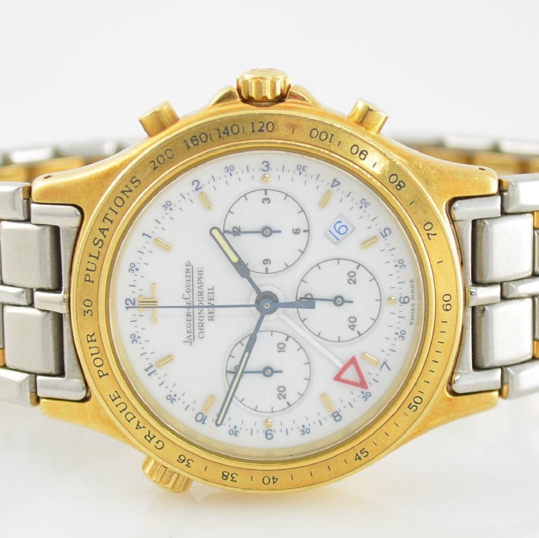 Jaeger-LeCoultre alarm wristwatch with chronograph - 2