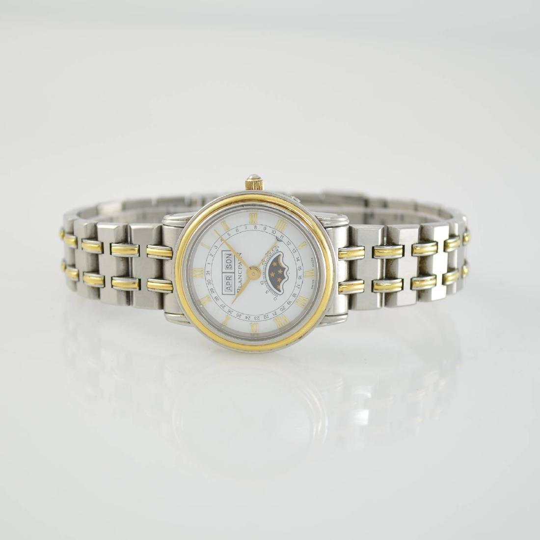 BLANCPAIN ladies wristwatch with complete calendar