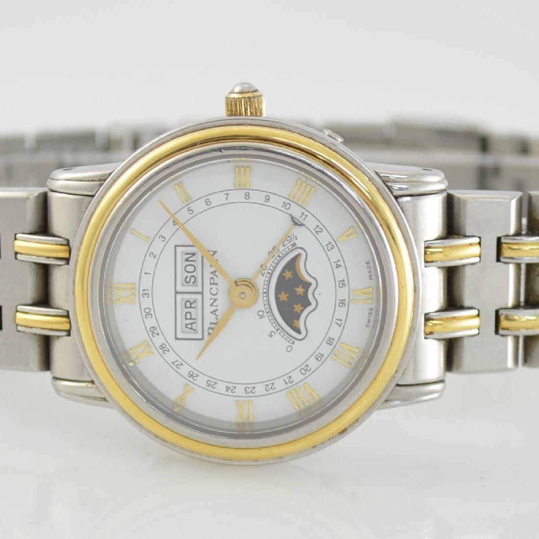 BLANCPAIN ladies wristwatch with complete calendar - 2