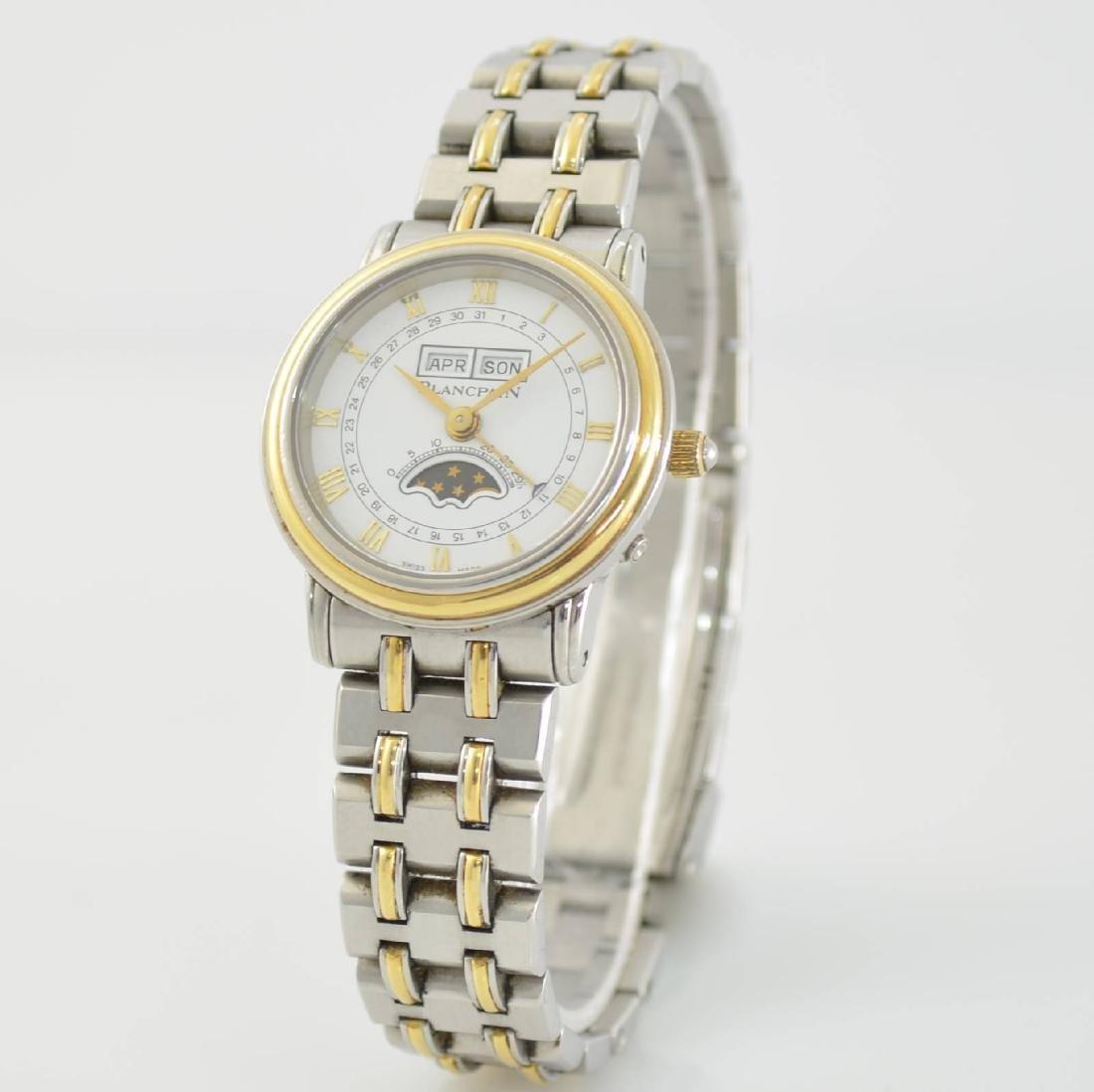 BLANCPAIN ladies wristwatch with complete calendar - 3