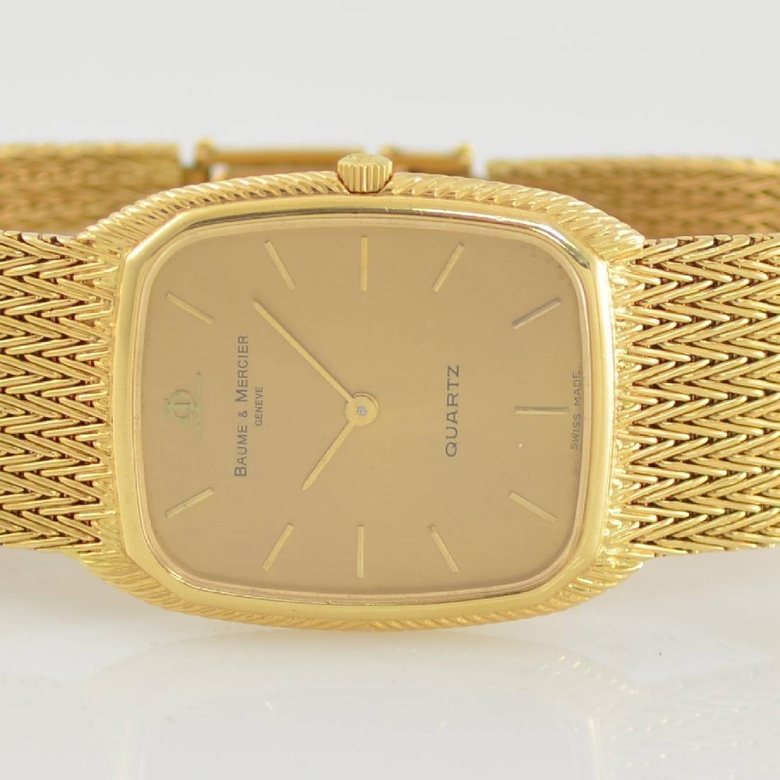 BAUME & MERCIER 18k yellow gold wristwatch - 2