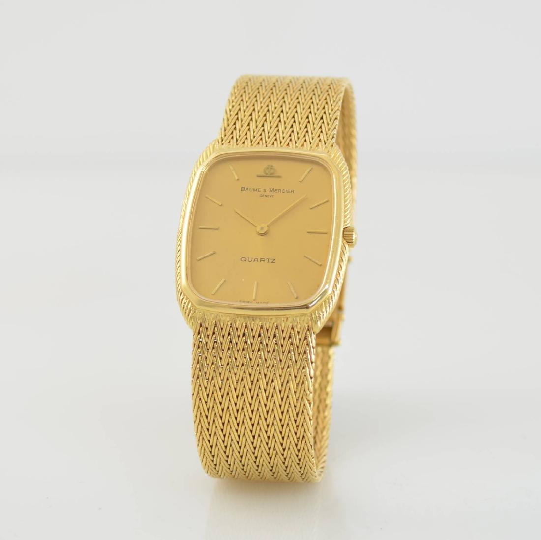 BAUME & MERCIER 18k yellow gold wristwatch - 3
