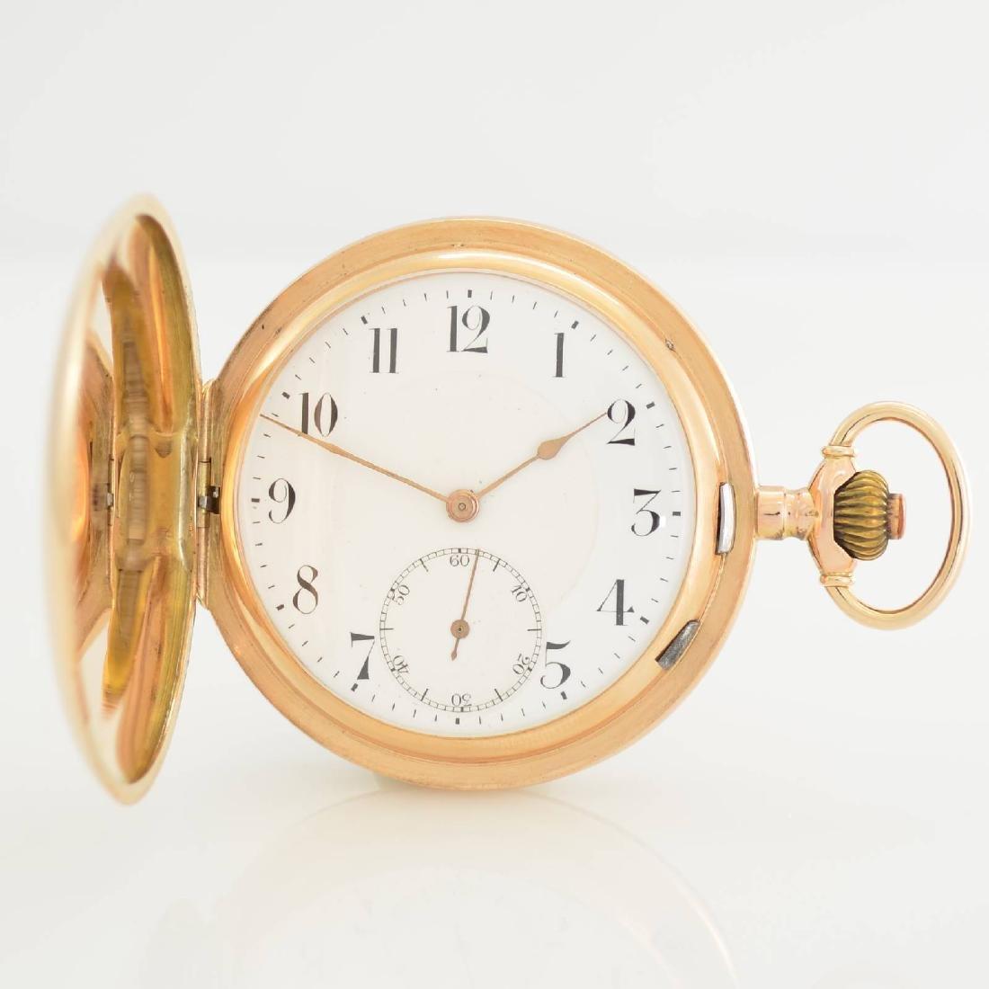 L.U.C. Chopard 14k pink gold pocket watch