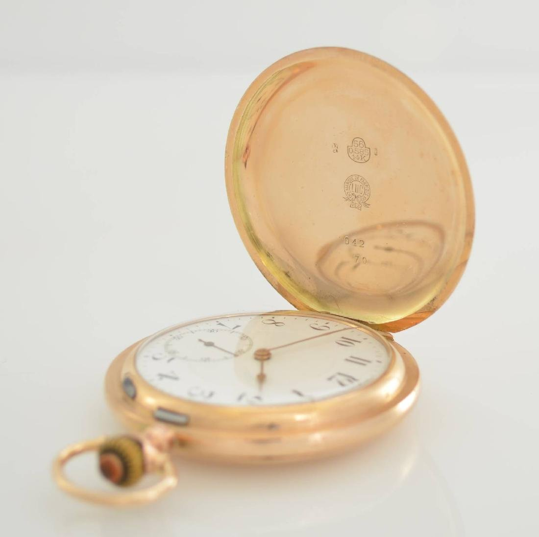 L.U.C. Chopard 14k pink gold pocket watch - 2
