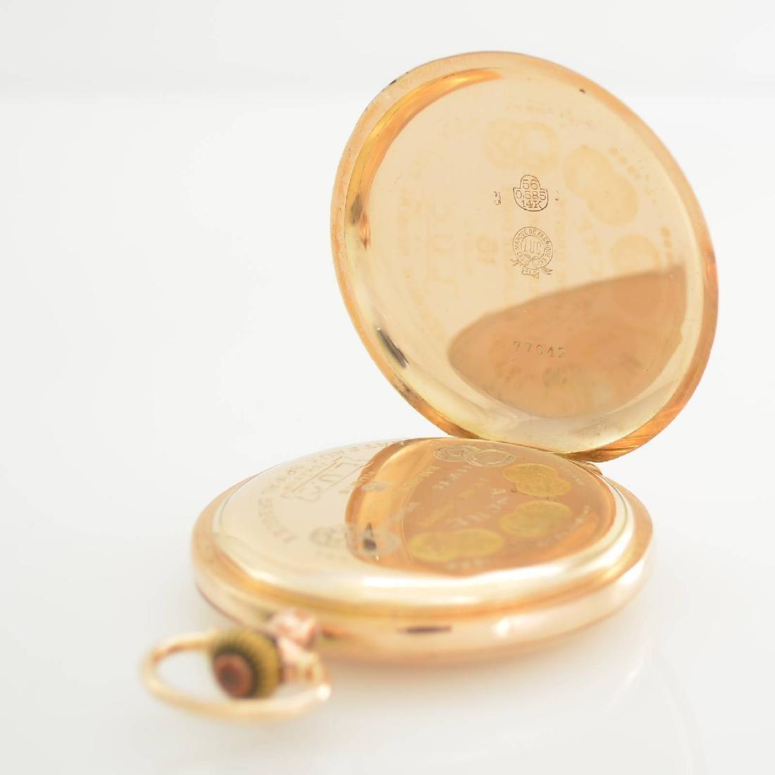 L.U.C. Chopard 14k pink gold pocket watch - 4