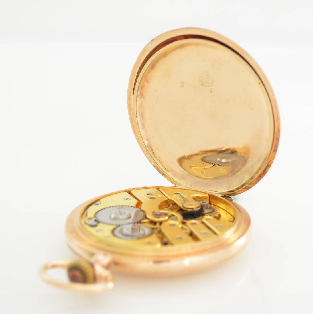 L.U.C. Chopard 14k pink gold pocket watch - 7